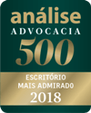 Selo Análise Advocacia 500